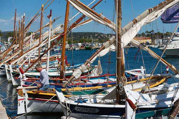 Fischerhafen in Bandol